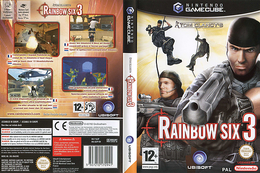 Tom Clancy's Rainbow Six 3 pochette GameCube (G63P41)