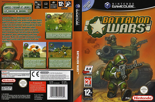 Battalion Wars pochette GameCube (G8WP01)