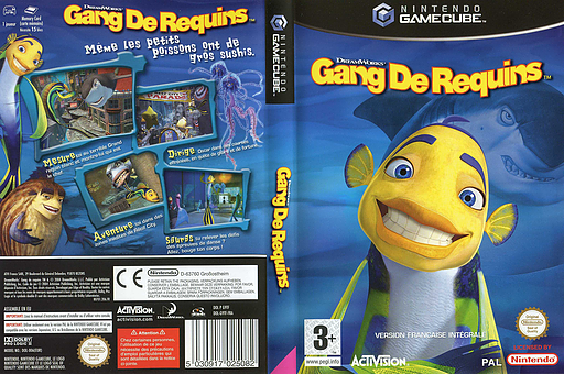 Shark Tale pochette GameCube (G9TF52)