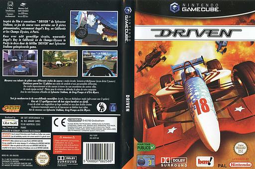Driven pochette GameCube (GDVP6L)