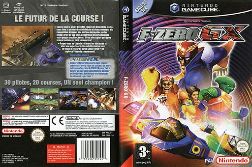 F-Zero GX pochette GameCube (GFZP01)