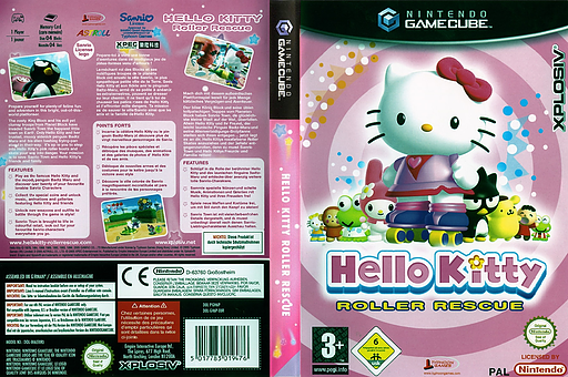 Hello Kitty: Roller Rescue pochette GameCube (GH6P7N)
