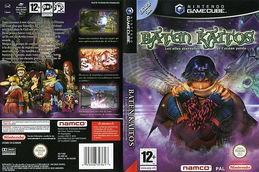 Baten Kaitos:Les Ailes éternelles et l'Océan perdu pochette GameCube (GKBPAF)
