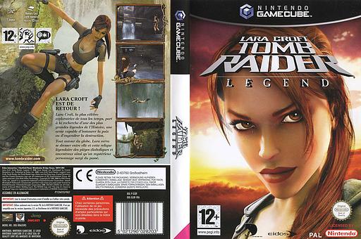 Lara Croft Tomb Raider: Legend pochette GameCube (GL8F4F)