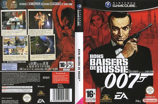 007:Bons Baisers de Russie pochette GameCube (GLZF69)