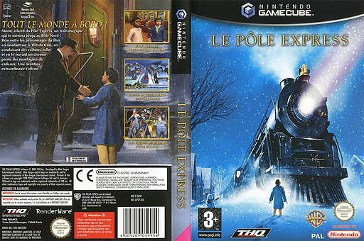 Le Pole Express pochette GameCube (GP3P78)