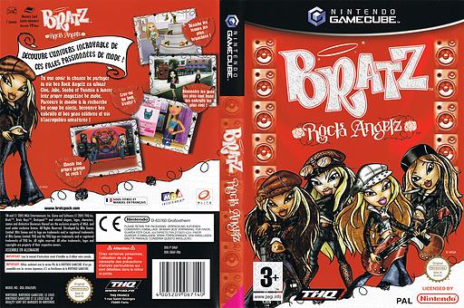 Bratz: Rock Angelz pochette GameCube (GR6F78)