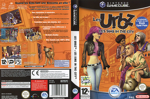 Les Urbz: Les Sims in the City pochette GameCube (GUBP69)