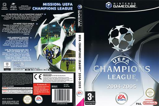 UEFA Champions League 2004-2005 pochette GameCube (GUCF69)