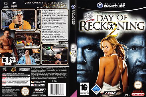 WWE Day of Reckoning 2 pochette GameCube (GW2P78)