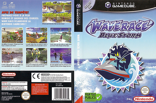 Wave Race: Blue Storm pochette GameCube (GWRP01)