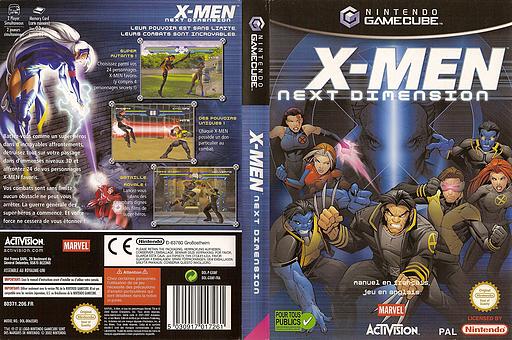 X-Men: Next Dimension pochette GameCube (GXMP52)