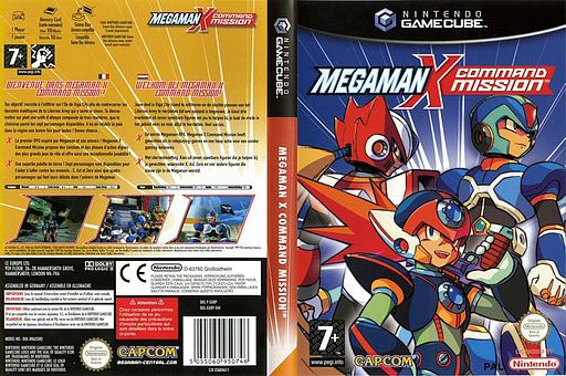 Mega Man X: Command Mission pochette GameCube (GXRP08)