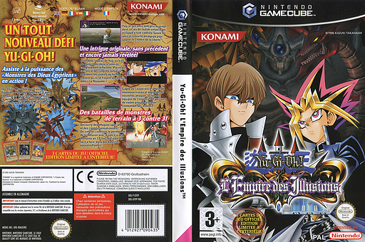 Yu-Gi-Oh! L'Empire des Illusions pochette GameCube (GYFPA4)