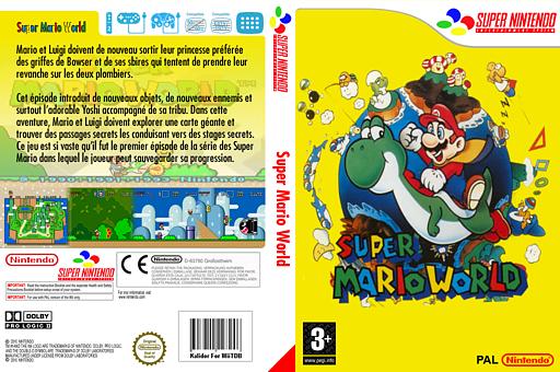 Super Mario World pochette VC-SNES (JAAP)