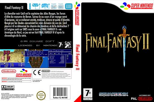Final Fantasy 2 pochette VC-SNES (JC8P)