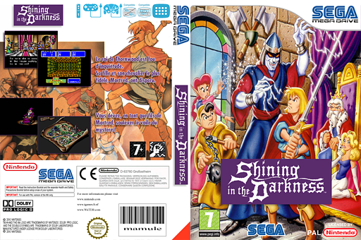 Shining in the Darkness pochette VC-MD (MA7P)