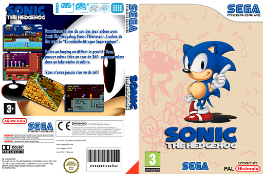Sonic the Hedgehog pochette VC-MD (MAHP)