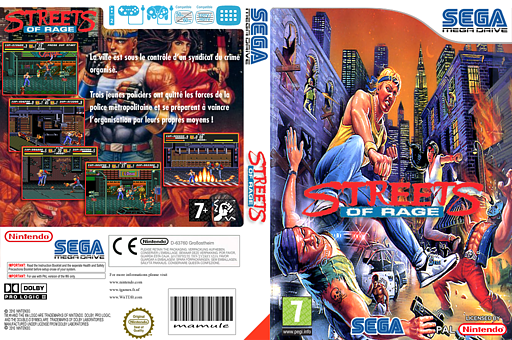 Streets of Rage pochette VC-MD (MAQP)