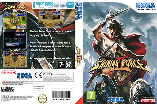 Shining Force II pochette VC-MD (MB6P)