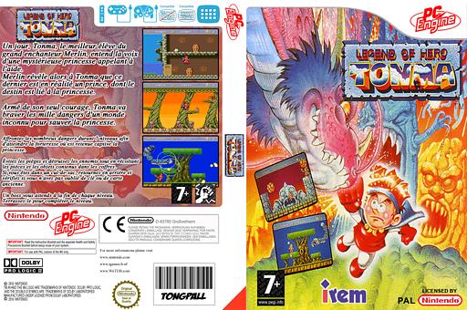 Legend of Hero Tonma pochette VC-PCE (PBMP)