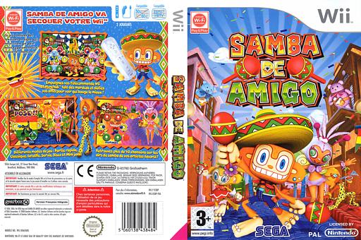 Samba de Amigo pochette Wii (R3BP8P)