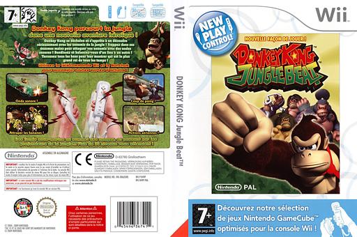Donkey Kong:Jungle Beat pochette Wii (R49P01)