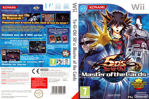 Yu-Gi-Oh! 5D's : Master of the Cards pochette Wii (R8DPA4)