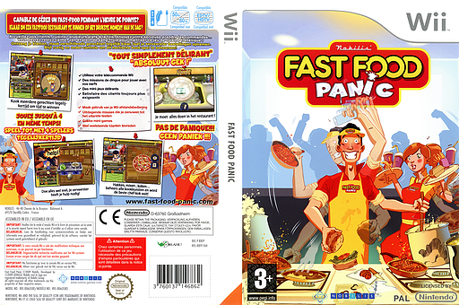 Fast Food Panic pochette Wii (R8FPNP)
