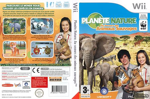 Planète Nature:Au Secours des Animaux Sauvages pochette Wii (R8VP41)