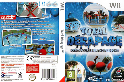 Total Dérapage pochette Wii (R94PMR)
