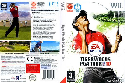 Tiger Woods PGA Tour 10 pochette Wii (R9OP69)