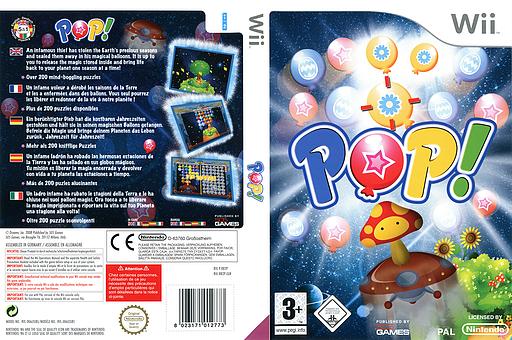 Pop! pochette Wii (RB2PGT)