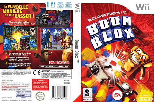 Boom Blox pochette Wii (RBKP69)