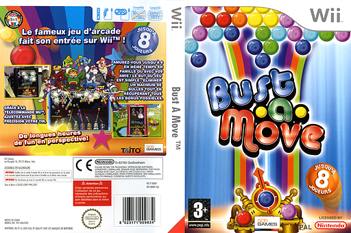 Bust A Move pochette Wii (RBMPGT)