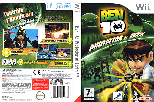 Ben 10:Protector of Earth pochette Wii (RBNXG9)