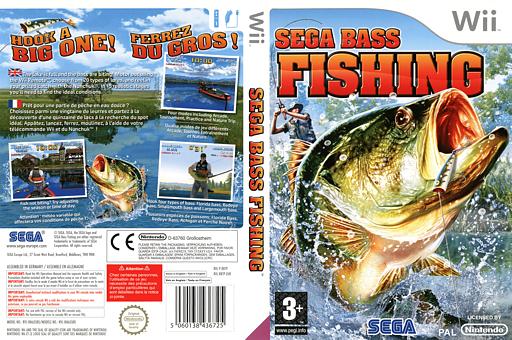 Sega Bass Fishing pochette Wii (RBTP8P)