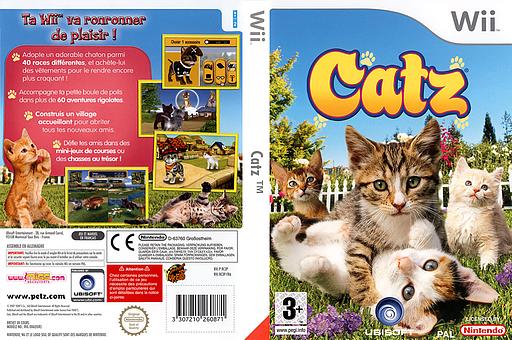 Catz pochette Wii (RC3X41)
