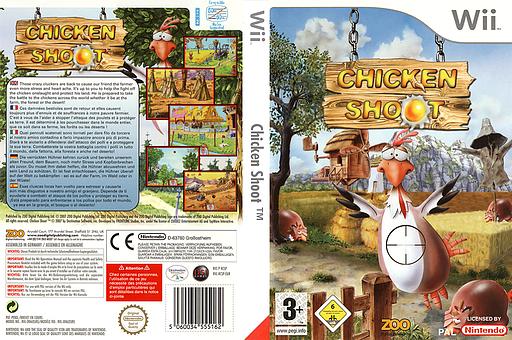 Chicken Shoot pochette Wii (RCSP7J)
