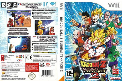Dragon Ball Z:Budokai Tenkaichi 2 pochette Wii (RDBPAF)