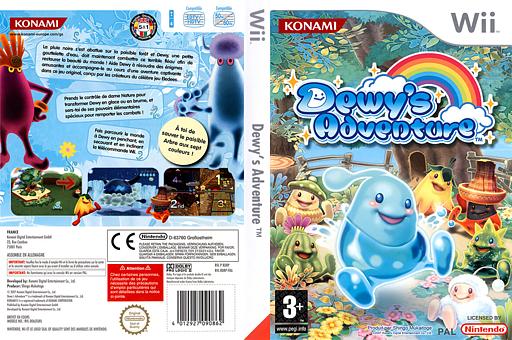 Dewy's Adventure pochette Wii (RDRPA4)