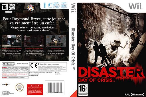 Disaster:Day of Crisis pochette Wii (RDZP01)