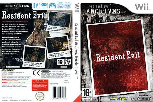 Resident Evil Archives : Resident Evil pochette Wii (RE4P08)