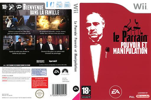 Le Parrain:Pouvoir et Manipulation pochette Wii (RGFF69)