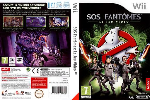SOS Fantômes:Le Jeu Vidéo pochette Wii (RGQP70)
