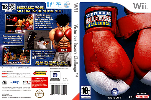 Victorious Boxers Challenge pochette Wii (RHIP41)