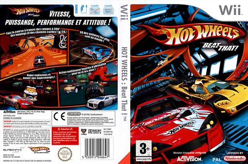 Hot Wheels:Beat That! pochette Wii (RHWP52)