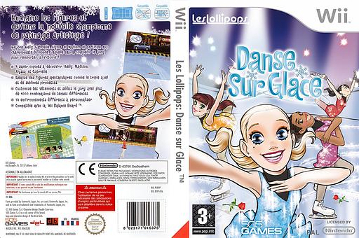Les Lollipops:Danse sur Glace pochette Wii (RI9PGT)