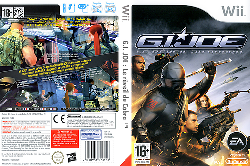 G.I. JOE:Le réveil du Cobra pochette Wii (RIJP69)