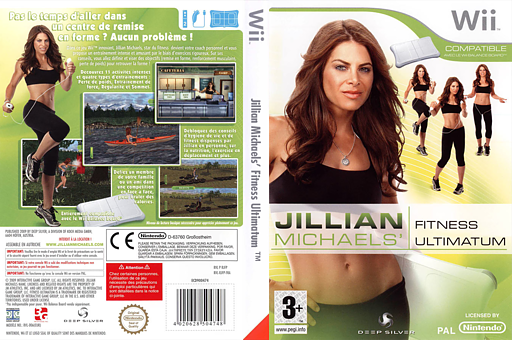 Jillian Michaels Fitness Ultimatum 2009 pochette Wii (RJFPKM)